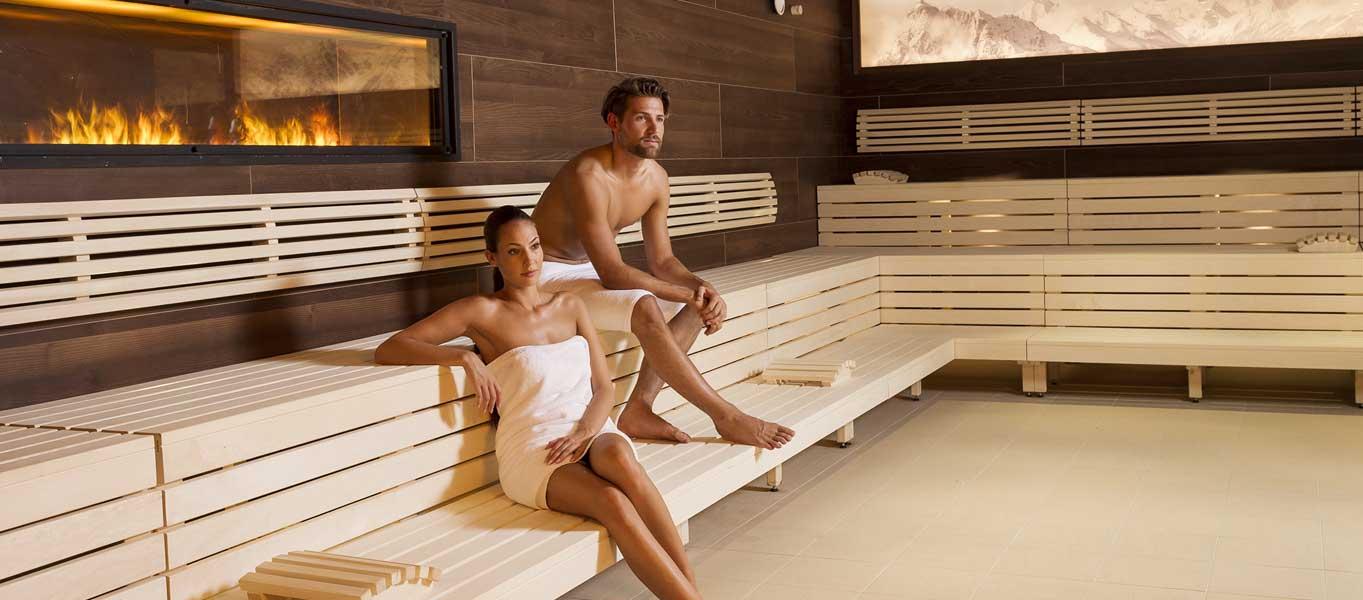 finnische Sauna in der Stubay in Fulpmes